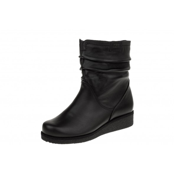 Axel Comfort 4092 wygodne czarne damskie botki