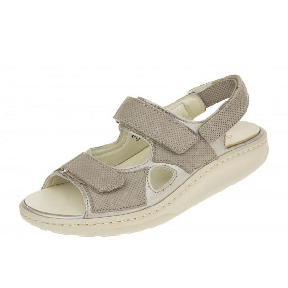 Waldlaufer Hester 404001 204 503 wygodne zdrowotne damskie sandały