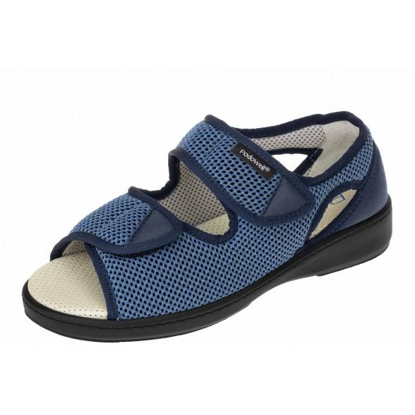 PodoWell Arsene jean wygodne zdrowotne damskie sandały