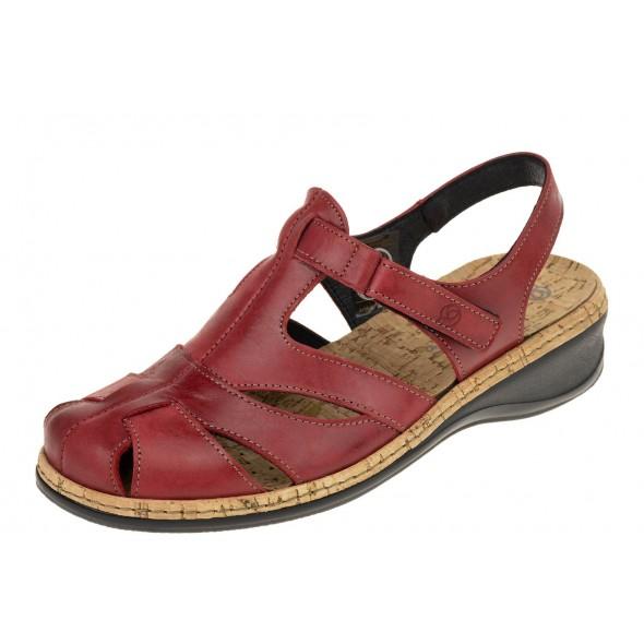 Suave Comfortabel 720134-4 wygodne zdrowotne damskie sandały