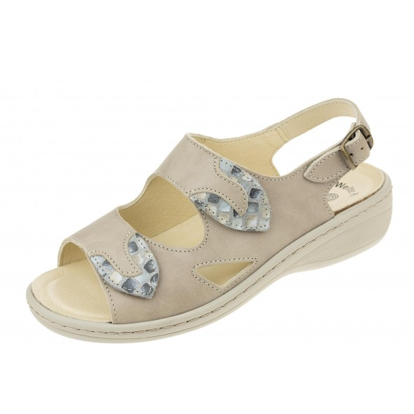 Dr Brinkmann 710002 wygodne zdrowotne damskie sandały