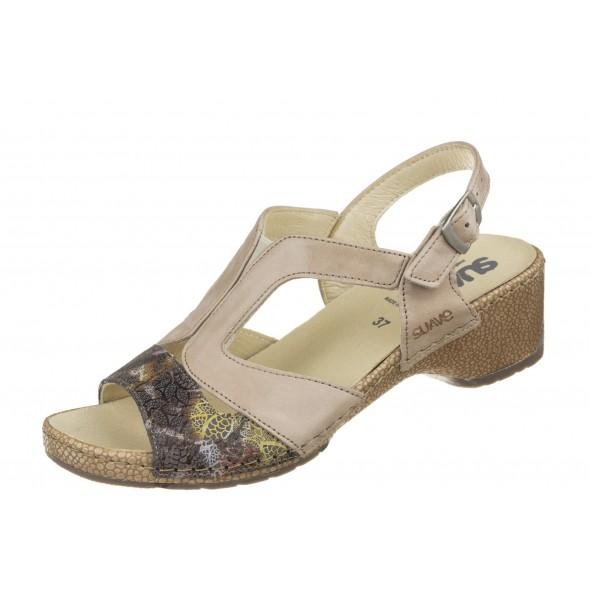 Suave Comfortabel 711023 wygodne zdrowotne damskie sandały