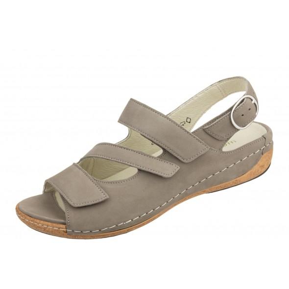 Waldlaufer Heliett 342026 191 060 wygodne zdrowotne damskie sandały
