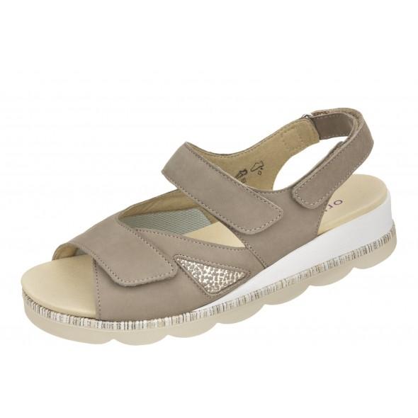 Waldlaufer K-Nelly 650K01 201 060 wygodne zdrowotne damskie sandały