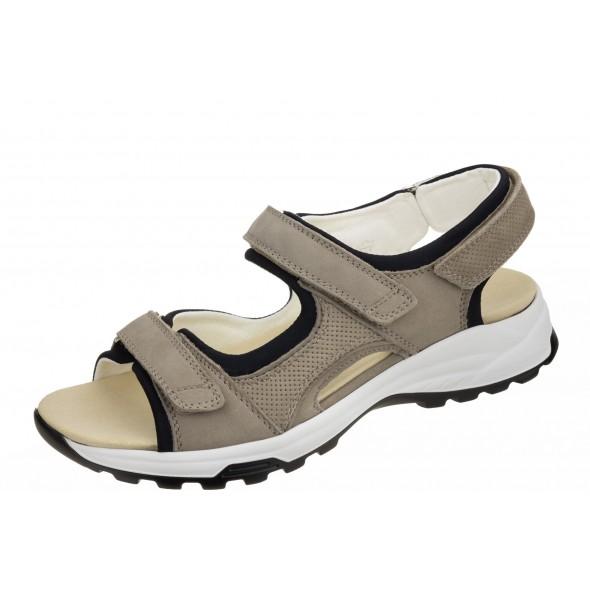 Waldlaufer H - Flora 791001 401 060 wygodne zdrowotne damskie sandały