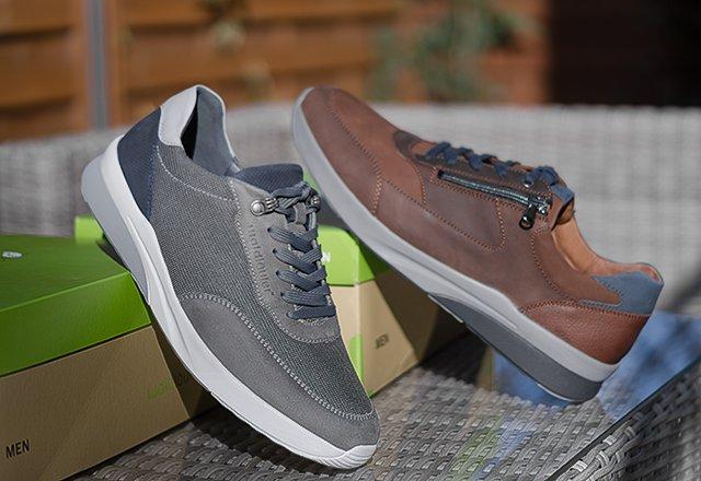 Męskie buty do wkładek